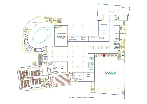 Ruwais Mall - First Floor