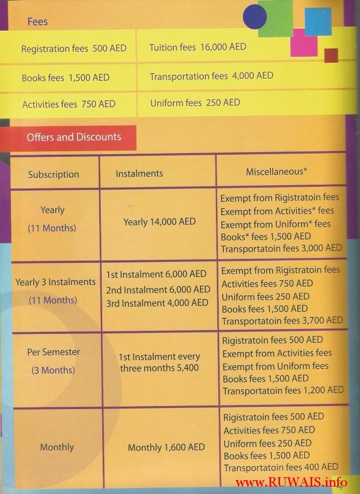 Al_Dana_Nursery_fees_offers_and_discounts