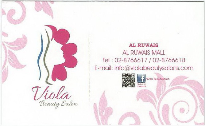 Ruwais mall 1st year aniversary for Address beauty salon