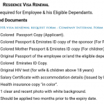 Residence Visa Renewal for ADNOC employees