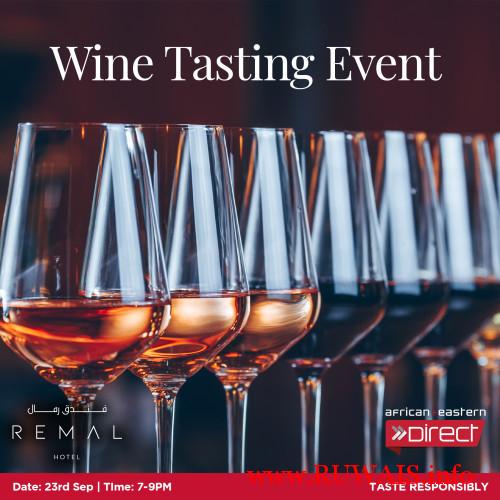 3 Wine Tasting - Remal Hotel (Sep 23, 2021)